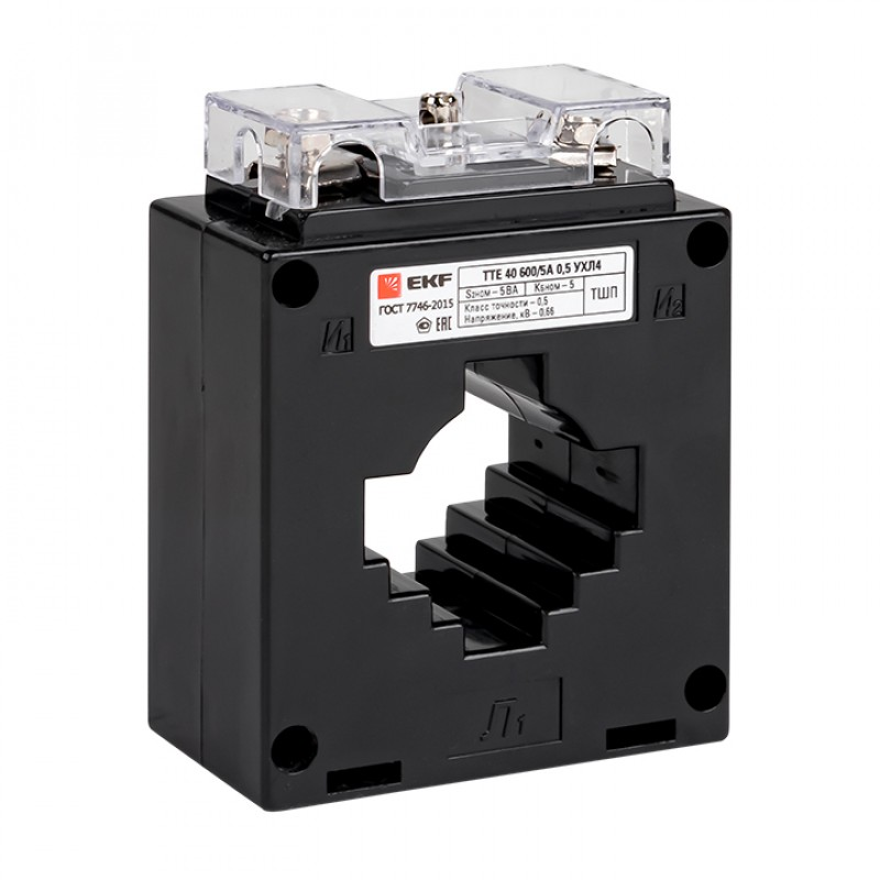 Трансформатор тока ТТИ-40 300/5А 5ВА класс 0,5 Купить
